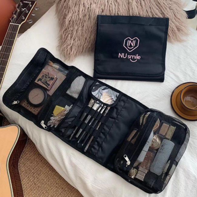 화장품 정리 파우치 여행용 손잡이달린 다용도 수납 가방